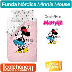 Juego de Funda Nórdica Minnie Blue Skirt