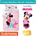 Juego de Funda Nórdica Minnie Fabulous
