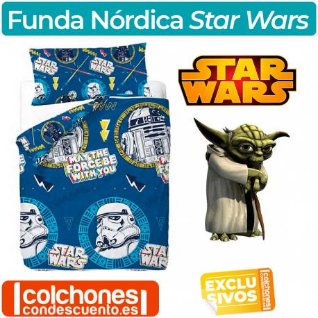Juego de Funda Nórdica Star Wars