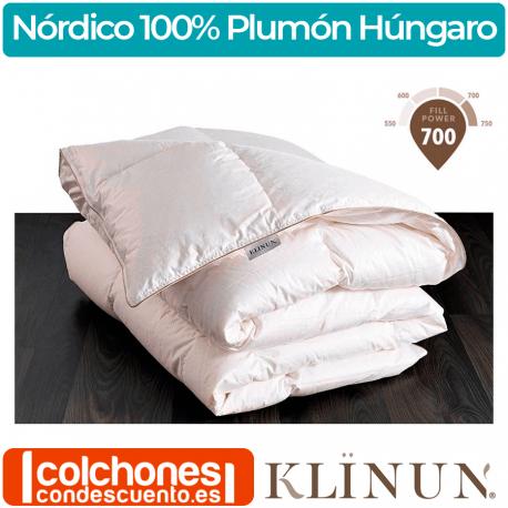 Relleno Nórdico Klinun Plumón 100% de Oca Húngara 190 grs