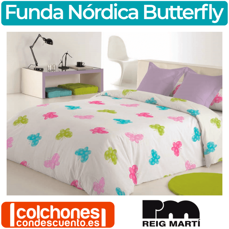 Funda Nórdica Butterfly de Reig Martí