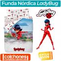 Juego de Funda Nórdica Ladybug Fantastic