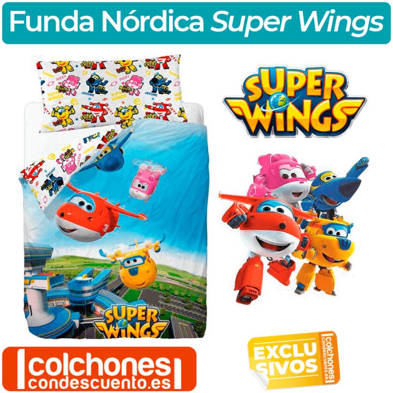 Juego de Sábanas Infantil Super Wings Friends