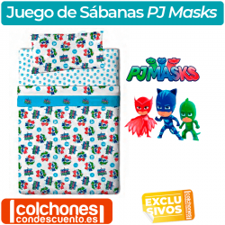 Juego de Sábanas PJ Masks