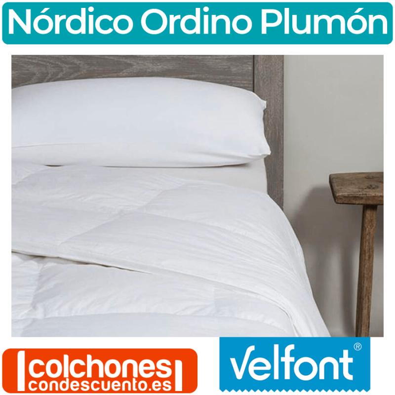 Edredón Nórdico Ordino 90% Plumón de Velfont