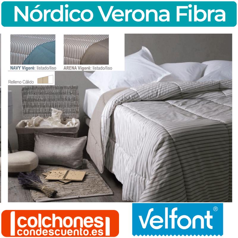 Relleno Nórdico Estampado Verona de Velfont