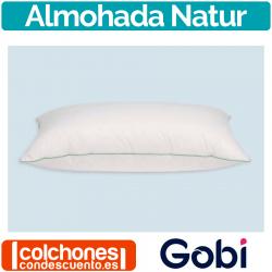 Almohada Natur 90% Duvet de Gobi