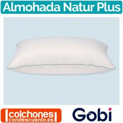 Almohada Natur Plus 90% Duvet de Gobi