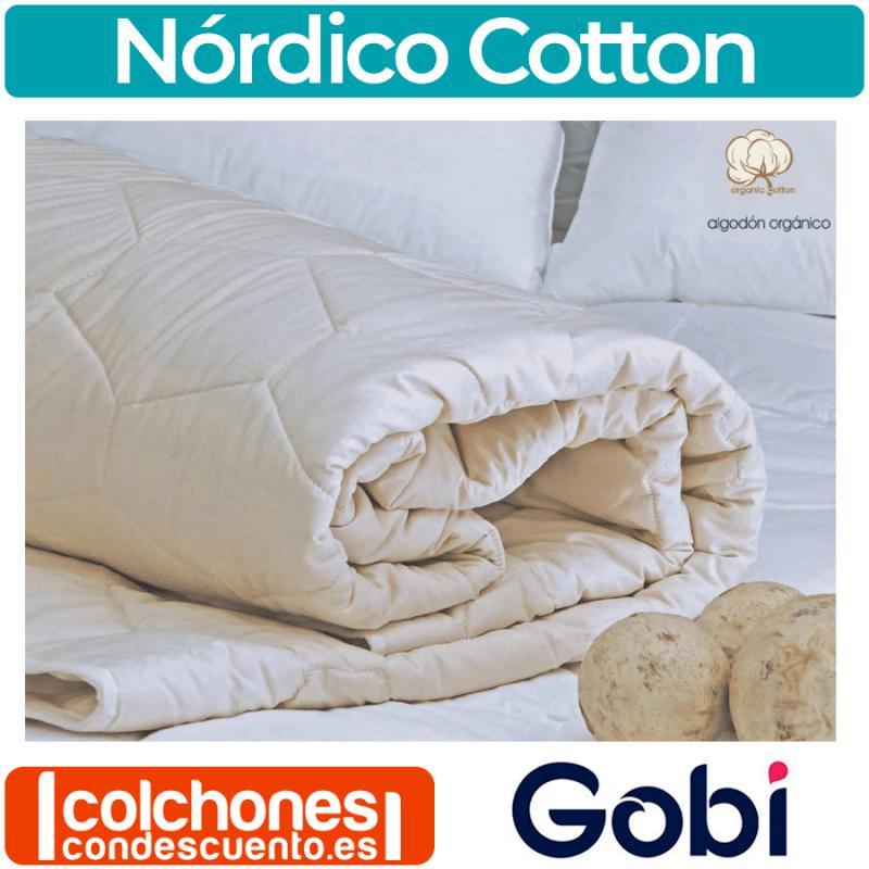 Relleno Nórdico de Algodón 100% Cotton de Gobi