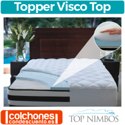 Topper Viscoelástico Visco de Top Nimbos