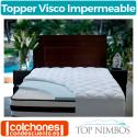 Topper Viscoelástico Visco Impermeable de Top Nimbos