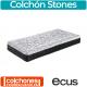 Colchón de Muelles Ensacados Stones de Ecus