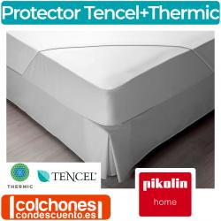 Protector de Colchón y Bajera Pikolin Home 2en1 Tencel® + Thermic® PP27