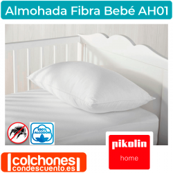 Almohada de Bebé de Fibra AH01 de Pikolin Home