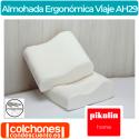 Almohada Ergonómica de Viaje AH29 de Pikolin Home