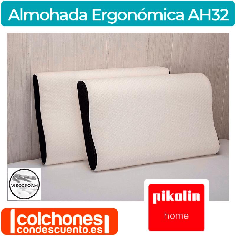 Almohada Ergonómica Doble Funda AH32 de Pikolin Home