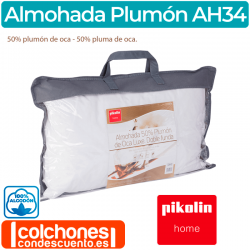 Almohada Plumón Oca Luxe AH34 de Pikolin Home