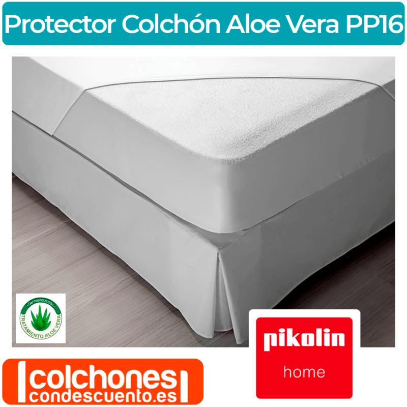 Protector Colchón PP16 Aloe Vera de Pikolin Home