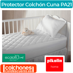 Protector de Colchón de Cuna Impermeable Acolchado PA21 de Pikolin Home