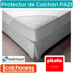 Protector de colchón impermeable y acolchado PA21 de Pikolin Home