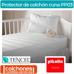 Protector de Colchón Bebé Tencel Impermeable PP03 de Pikolin Home