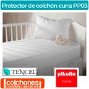 Protector de Colchón Tencel® Bebé Impermeable de Pikolin Home PP03