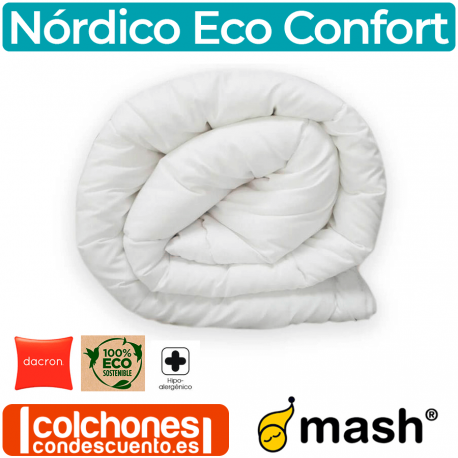 Edredón Nórdico de Fibra Dacron 400 gr Eco Confort de Mash