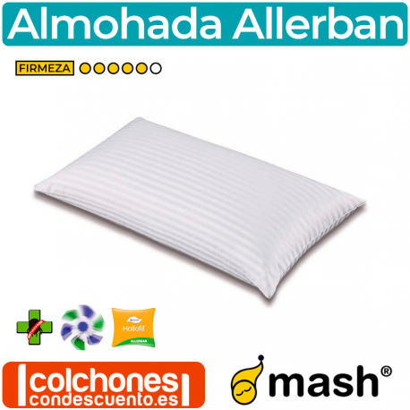 Almohada Allerban de Fibra de Mash