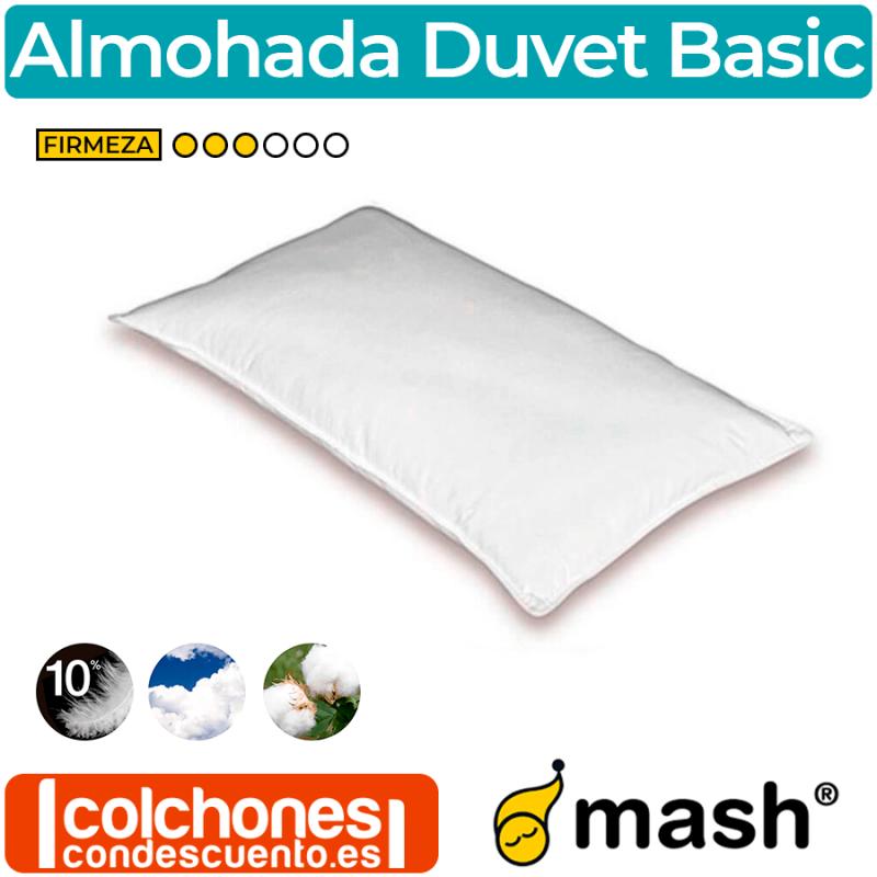 Almohada de Plumón y Pluma Duvet Classic de Mash