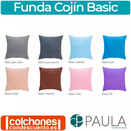 Funda cojín Basic de Confecciones Paula
