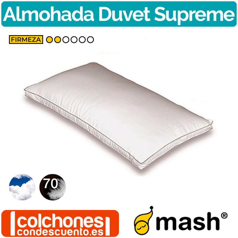 Almohada de plumón y pluma Duvet Supremme de Mash
