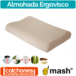 Almohada Ergovisco de Mash