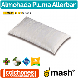 Almohada Fibra Allerban Pluma de Mash