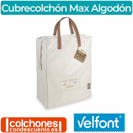 Cubrecolchón Acolchado Max Algodón de Velfont®