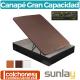 Canapé Abatible Madera y Tejido 3D de Sunlay Grupo Plikolin