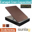 Canapé Abatible Madera y Tejido 3D de Sunlay