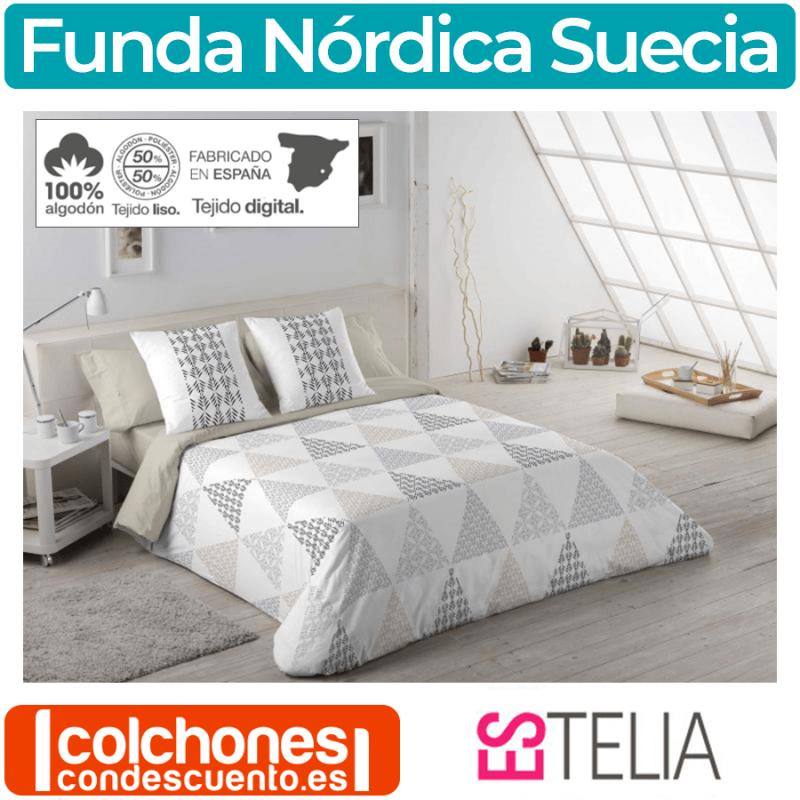 Juego Funda Nórdica Suecia de Es-tela