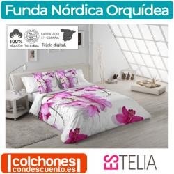 Juego Funda Nórdica Orquídea de Estelia