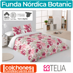 Juego Funda Nórdica Botanic de Estelia