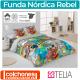 Juego Funda Nórdica Rebel de Es-tela