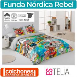 Juego Funda Nórdica Rebel de Estelia