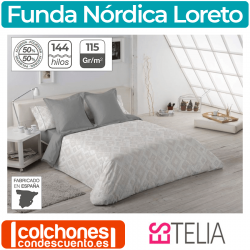 Juego Funda Nórdica Loreto de Estelia