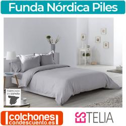 Juego Funda Nórdica Jacquard Piles de Estelia