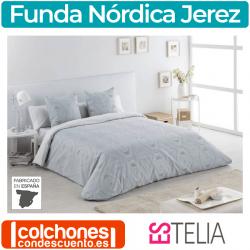 Juego Funda Nórdica Jacquard Jerez de Estelia