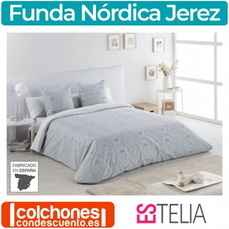 Juego Funda Nórdica Jacquard Jerez de Es-tela