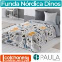 Juego de Funda Nórdica Infantil Dinos de Confecciones Paula