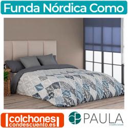 Juego de Funda Nórdica Como de Confecciones Paula