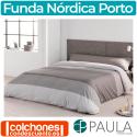 Juego de Funda Nórdica Porto de Confecciones Paula