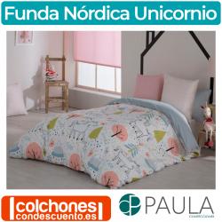 Juego de Funda Nórdica Unicornio de Confecciones Paula