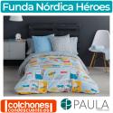Juego de Funda Nórdica Héroes de Confecciones Paula